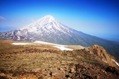 Mt.Ararat (5,137 masl) from Little Ararat Summit (3,896 masl), Turkey