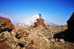 Mt.Ararat (5,137 masl) from Little Ararat Summit (3,925 masl), Turkey
