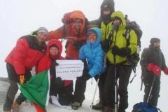 Mt.Ararat (5,137 masl), Turkey - Summit