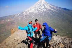 Mt.Ararat (5,137 masl), Turkey - View from the summit of Little Ararat (3,925 masl)