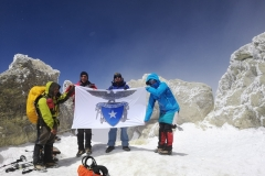 Mt.Damawand (5,610 masl), Iran - Summit