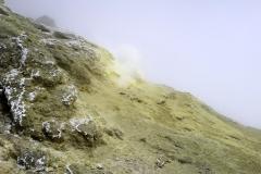 Mt.Damawand (5,610 masl), Iran - Hot Sulphur Gasses