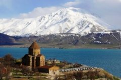 Van Lake & Akhtamar Island, Turkey - Holy Cross Cathedral